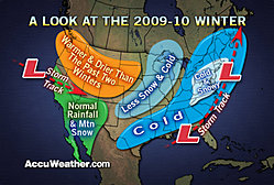 AccuWeather 2009-2010 winter forecast