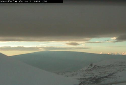 Image from Mauna Loa on January 12, 2011