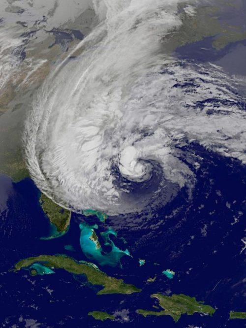 Hurricane Sandy image